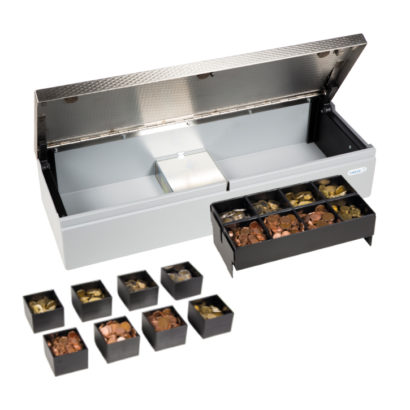 Anker Cash Drawer With Coin Holders