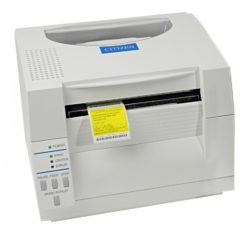 Citizen CL S521 Desktop Label Printer White Front Facing