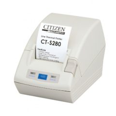 Citizen CT S280 Portable Receipt Printer White With Receipt