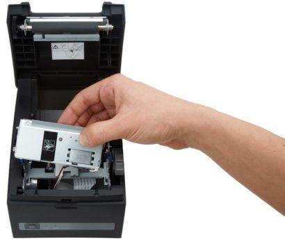 Citizen CT S310II Thermal Receipt Printer Open blak