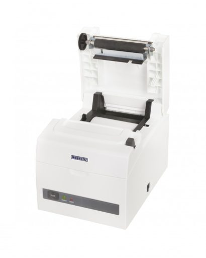 Citizen CT S310II Thermal Receipt Printer Open Left Facing white