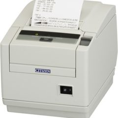 Citizen CT S601II Mid Range Pos Printer Left Facing With Receipt