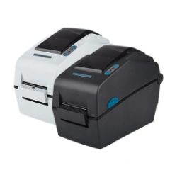 Metapace L22D Label Printer black and white colours both facing left
