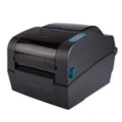 Metapace L42DT Desktop Label Printer in black facing left