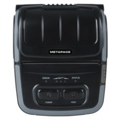 Metapace M30i Mobile Receipt Printer black front facing