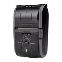 METAPACE M20i mobile receipt printer facing forward black