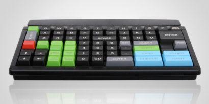 PrehKeyTech MCI84 pos keyboard Flat Facing Forward