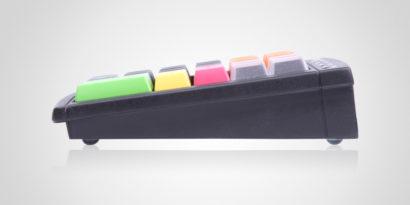 PrehKeyTech MCi30 POS Keyboard Side On programmable