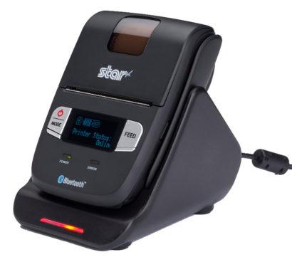 Star SM L200 Mobile Receipt And Label Printer Charging Cradle