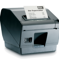 Star TSP700II Receipt Printer Left Facing black version horizontal