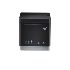 Star MC Print 2 receipt printer in black facing forward