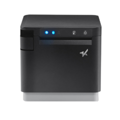 Star McPrint 3 receipt printer front facing in black