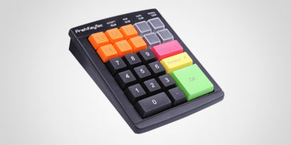 PrehKeyTech MCi-30 multi-coloured keyboard