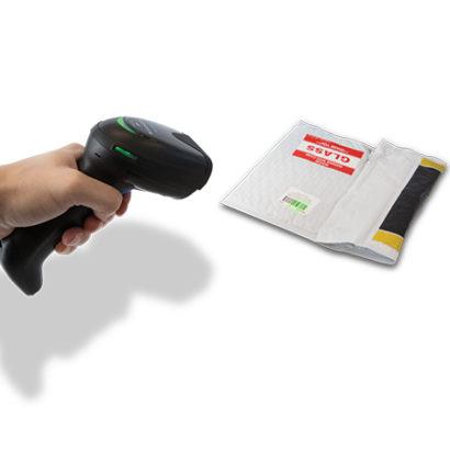 Datalogic Gryphon™ I GD4500 2D Barcode Scanner Reading Barcode