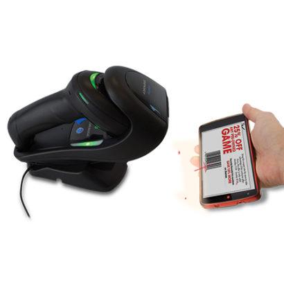 Datalogic Gryphon™ I GD4500 2D Barcode Scanner Reading Barcode On Mobile Phone