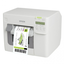 Epson ColorWorks C3500 Colour Label Printer Left Facing