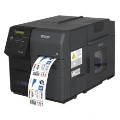 Epson ColorWorks C7500C7500G Colour Label Printer Left Facing