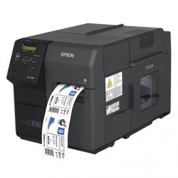 Epson ColorWorks C7500C7500G Colour Label Printer Left Facing