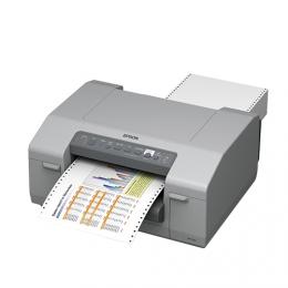 Epson ColorWorks C831 GHS Inkjet Label Printer Left Facing