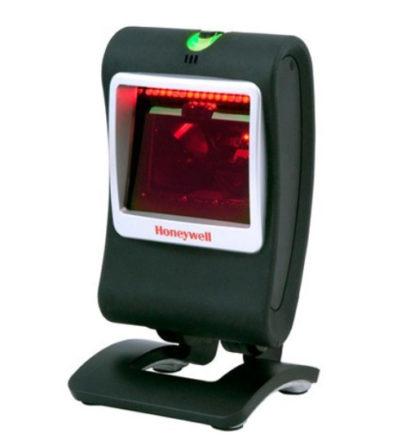Honeywell Genesis 7580g Area Imaging Hands Free 1D2D Barcode Scanner Left Facing