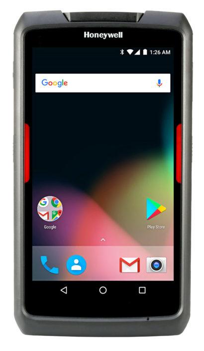 Honeywell Scanpal EDA70 Android Hybrid Handheld Computer facing forward screen on