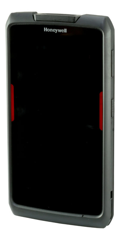 Honeywell Scanpal EDA70 Android Hybrid Handheld Computer facing left screen off