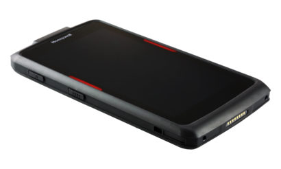 Honeywell Scanpal EDA70 Android Hybrid Handheld Computer facing right turned off