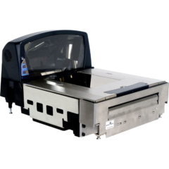 ll Stratos 2400 In-Counter Scanner Right Facing