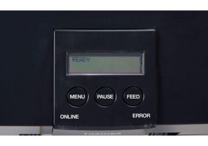 Toshiba TEC DB EA4D Rugged Double Side Printing Label Printer Display
