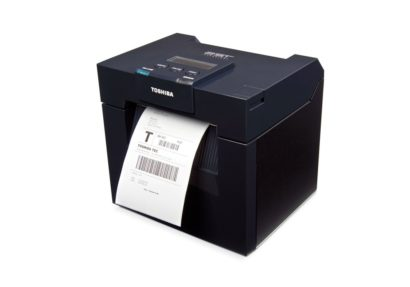 Toshiba TEC DB EA4D Rugged Double Side Printing Label Printer Left Facing