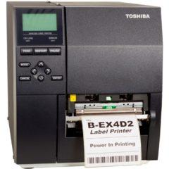 Toshiba Tec B EX4D2 Label Printer Front Facing