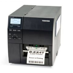 Toshiba Tec Industrial barcode label Printer B EX4T1 Front Facing V2