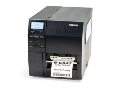 Toshiba Tec Industrial barcode label Printer B EX4T1 Front Facing V2