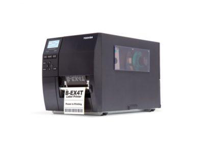 Toshiba Tec Industrial barcode label Printer B EX4T1 Left Facing