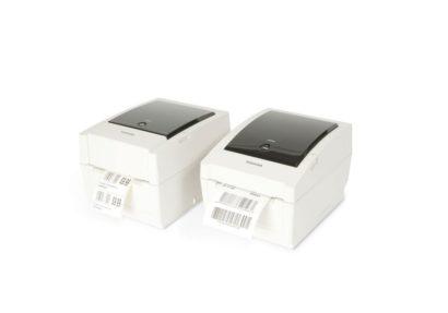 Toshiba Tec Desktop Printer B EV4L Two Closed Printers Side By Side