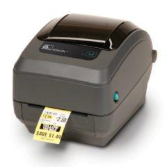 Zebra GK420t Compact Thermal Transfer Desktop Label Printer Black With Label