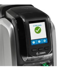 Zebra ZC300 Id Card Printer Close Up