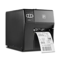 Zebra ZT220 Industrial Label Printer Right Facing