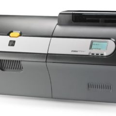 Zebra ZXP 7 ID Card Printer Angled Right