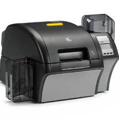 Zebra ZXP Series 9 ID Card Printer Right Facing