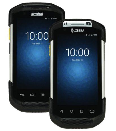 Zebra TC70TC70X Rugged Android PDA Front Facing