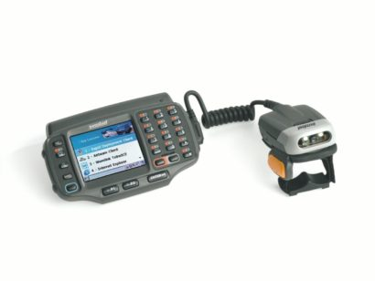 Zebra RS507 Wearable Scanner with computer
