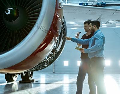 Aerospace Label Landing Page