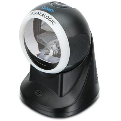 Datalogic Cobalto™ CO5300 Omnidirectional Presentation Laser Scanner black left facing