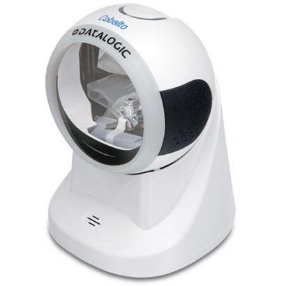 Datalogic Cobalto™ CO5300 Omnidirectional Presentation Laser Scanner white left facing