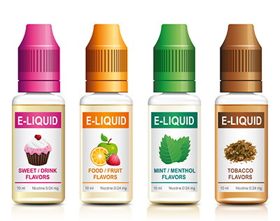 E Cig And E Liquid Label Landing Page