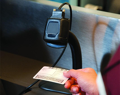 Fixed Mount Barcode Scanner landing page