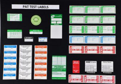 Label type landing page