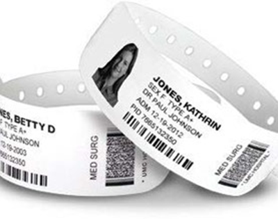 Wristbands Label Landing Page