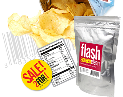 Packaging application label landing page
